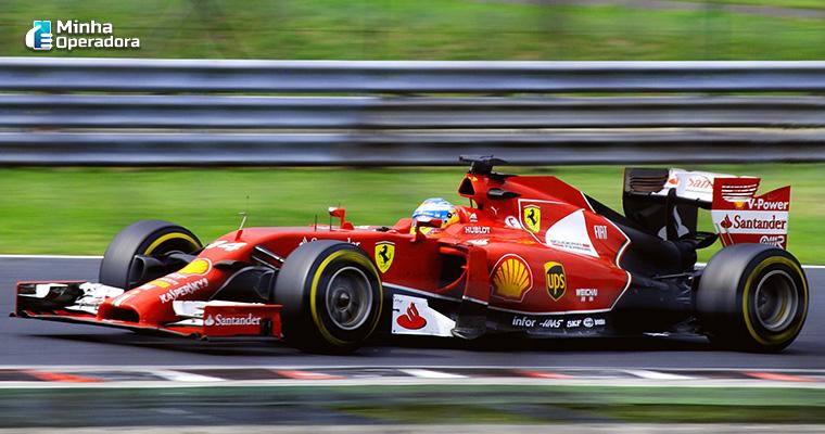 Fórmula 1, ilustração.
