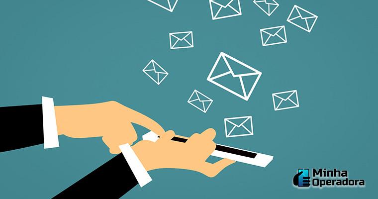 Ilustração - SMS