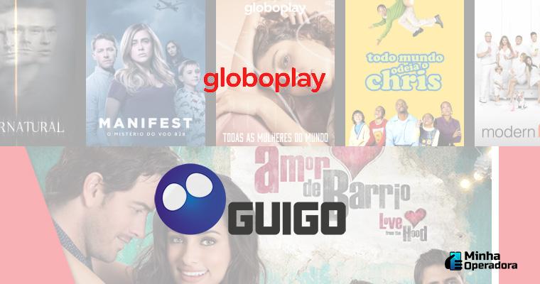 Divulgação Globoplay e Guigo TV
