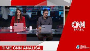 CNN Brasil negocia fusão com rede nacional de TV
