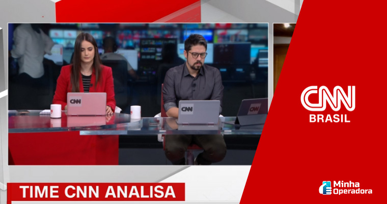 Transmissão ao vivo da CNN Brasil