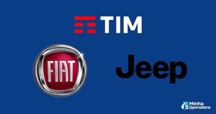 Marcas Fiat, Jeep e TIM