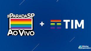 Parada LGBTI+ virtual ganha patrocínio da TIM
