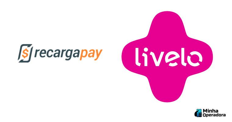 Logotipo RecargaPay e Livelo
