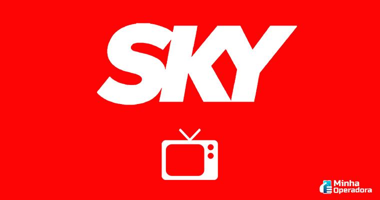 Divulgação logotipo SKY