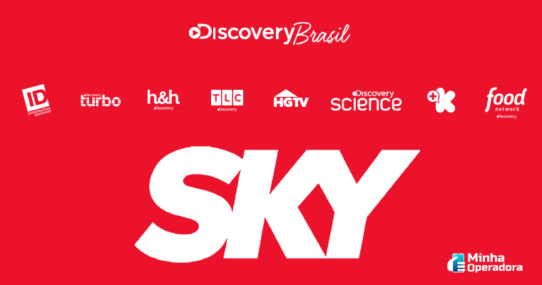 Canais do grupo Discovery Brasil