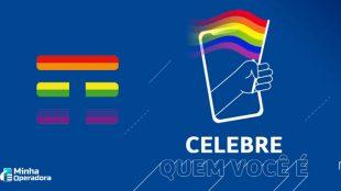 TIM adota logomarca LGBTI+ para o mês de junho