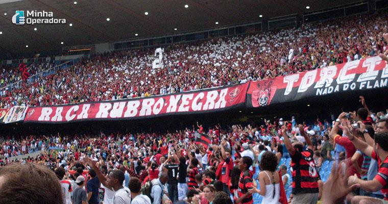Torcida do Flamengo. Imagem: Wikipedia