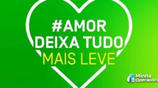 Oi lança ação #AmorDeixaTudoMaisLeve