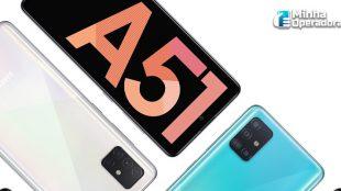 TIM oferta smartphone Galaxy A51 por R$ 1.299
