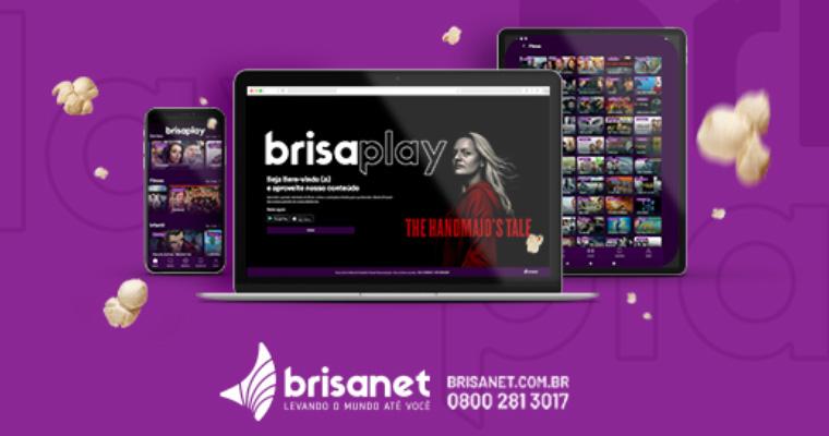 Aplicativo de vídeo sob demanda da Brisanet. Imagem: Site da Brisanet
