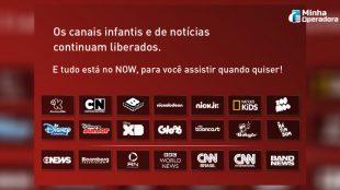 Canais terão mais um mês de sinal aberto na Claro net