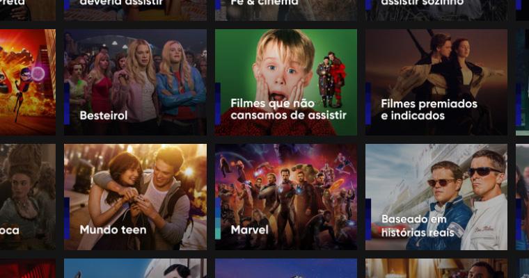 Cinelists do Telecine
