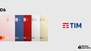 Clientes TIM ganham 8 GB de bônus com conta no C6 Bank