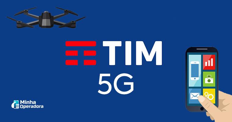 Ilustração - 5G da TIM
