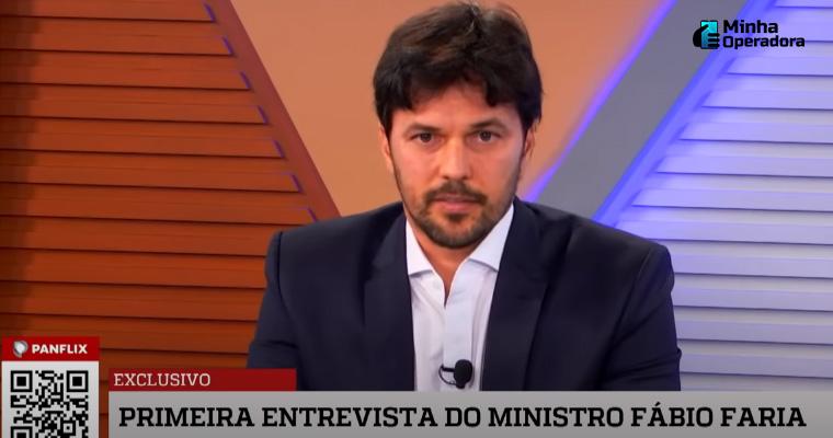 Fábio Faria, Ministro das Comunicações.