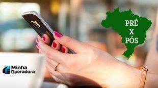 Conheça os 5 estados que possuem mais celulares pós-pagos no Brasil
