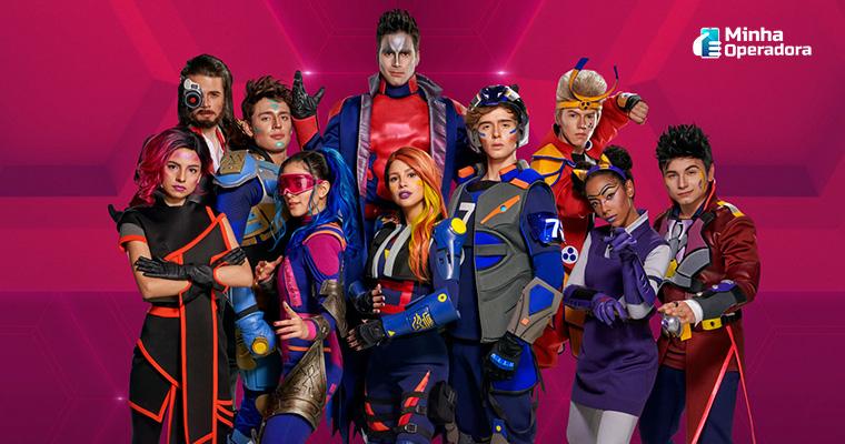 Série brasileira Noobees, exibida na Nickelodeon.