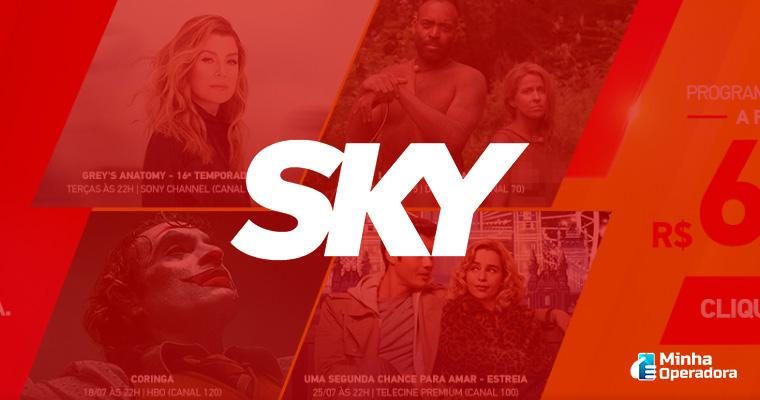 Imagem de fundo: Site do SKY pré-pago