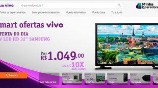 Vivo lança plataforma de e-commerce com diversos produtos