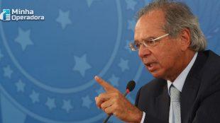 Paulo Guedes é a favor da Huawei no Brasil