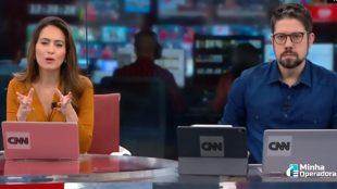 CNN Brasil despenca 19 posições no Ibope
