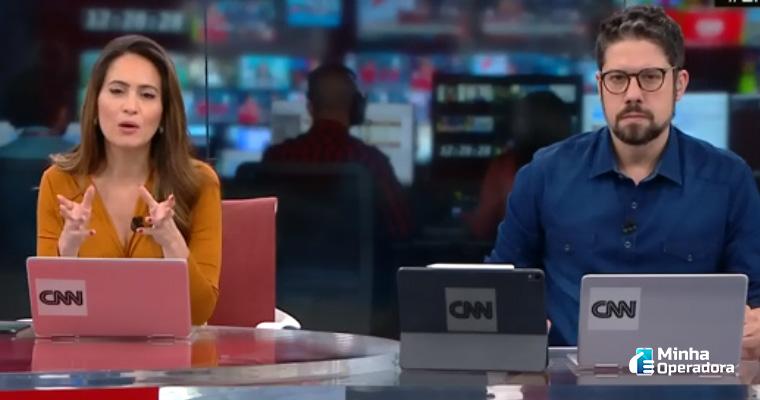 Programação ao vivo da CNN Brasil