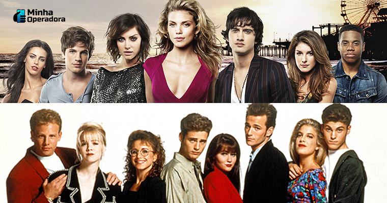 As duas versões da série Barrados no Baile. Imagem: Divulgação Paramount