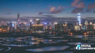 Cidade chinesa implanta a maior rede 5G do mundo