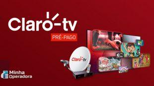Claro tv pré-pago passa a comercializar pontos adicionais