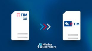 TIM incentiva usuários a trocar chips 3G por 4G