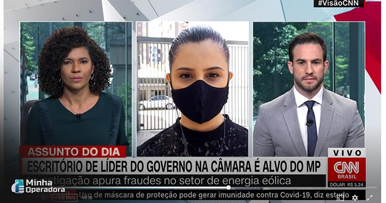 Programação da CNN Brasil