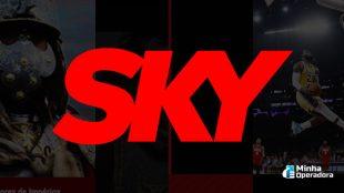 Canais de séries e filmes terão sinal aberto na SKY