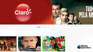 Canais ganham mais tempo de sinal aberto na Claro net