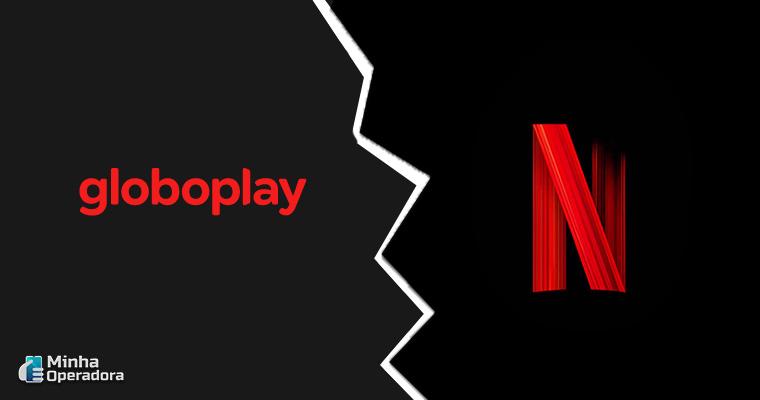 Logotipo Globo e Netflix