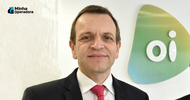 Rodrigo Abreu, CEO da Oi