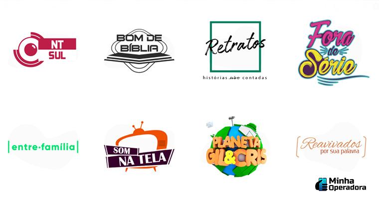 Imagem: Programação da TV Novo Tempo