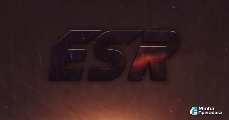 Logotipo do ESR. Reprodução YouTube