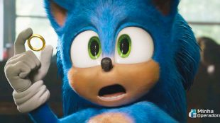 Sonic é o filme mais alugado do SKY Play