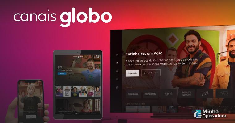 Divulgação Canais Globo
