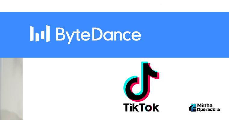 Logotipo Bytedance e TikTok