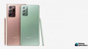 Vivo libera descontos de até R$ 1 mil para o Samsung Galaxy Note20