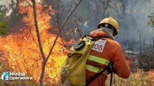 Manutenção em antena provoca incêndio em área do Palácio do Jaburu