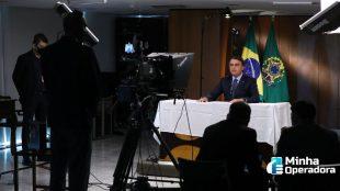 Pela primeira vez Bolsonaro sugere restrições no leilão do 5G