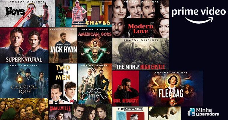 Imagem: Séries do Amazon Prime Vídeo. Plataforma é ameaça para Netflix