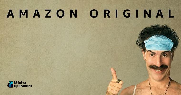 Borat 2. Imagem: Divulgação Amazon Prime Vídeo