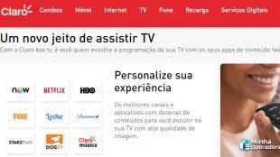 Claro Box TV terá taxa de adesão para quem não é cliente Claro