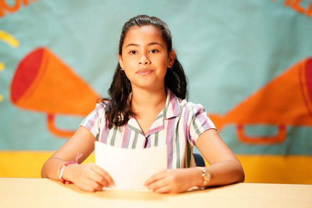 Protagonista de Diário de uma futura presidente, do Disney+