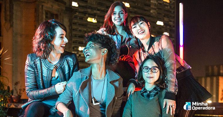 """Série """"As Five"""". Imagem: Divulgação Globoplay"""