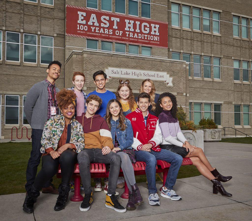 Elenco de High School Musical: O Musical: A Série, do Disney+